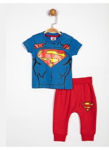 Superman  Bebek 2'Li Takım 14059 Saks